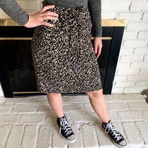 Esprit Vintage drawstring waist skirt y2k mini